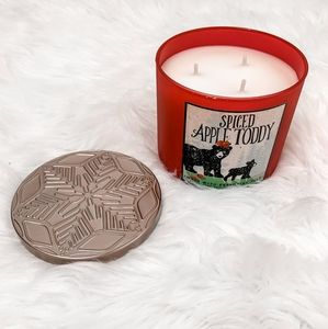 Bath & Body Works Spiced Apple Toddy 3 wick candle